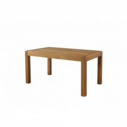 Devonshire Pine and Oak Ready assembled Avon Oak FIXED TOP DINING TABLE 150 x 90 DAV023