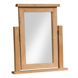 Devonshire Pine and Oak Ready assembled Dorset Oak DRESSING TABLE MIRROR DOR023