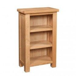 Devonshire Pine and Oak Ready assembled Dorset Oak  SMALL BOOKCASE DOR060