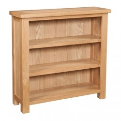 Devonshire Pine and Oak Ready assembled Dorset Oak 3 foot BOOKCASE DOR061