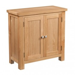 Devonshire Pine and Oak Ready assembled Dorset Oak 2 DOOR CABINET DOR067