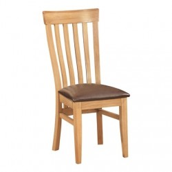 Devonshire Pine and Oak Ready assembled Dorset Oak TOULOUSE CHAIR DOR099