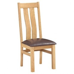 Devonshire Pine and Oak Ready assembled Dorset Oak ARIZONA CHAIR DOR100