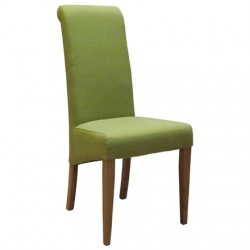 Oak FABRIC CHAIR - LIME