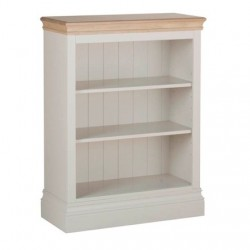 Devonshire Pine and Oak Ready assembled Pine LUNDY 3 foot BOOKCASE LK10