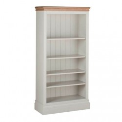 Devonshire Pine and Oak Ready assembled Pine LUNDY 5 foot BOOKCASE LK30