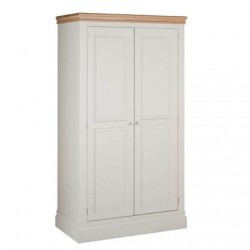 Devonshire Pine and Oak Ready assembled Pine LUNDY LADIES WARDROBE LW20